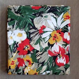 "Vintage Tropical Cotton Chintz Fabric 2y X 44"""